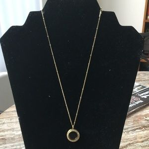 Gold Living Locket and chain